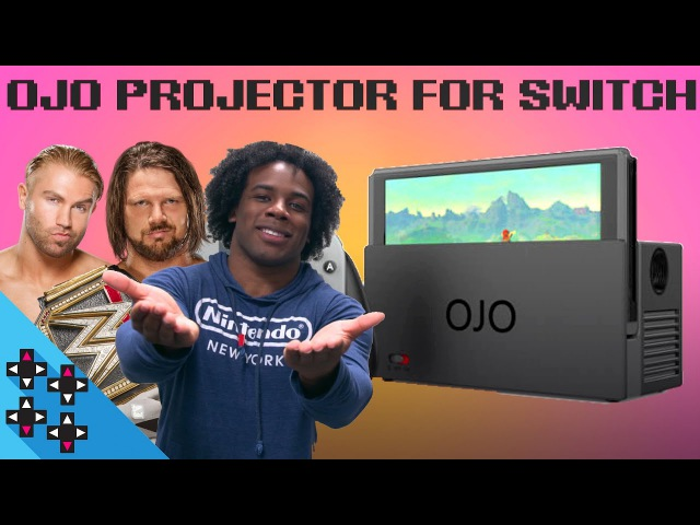 HANDS-ON with OJO PROJECTOR for NINTENDO SWITCH (feat. AJ Styles Tyler Breeze) - Expansion Pack