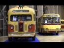 Ретро автобусы ны выставке Urban transport 2017 ВДНХ