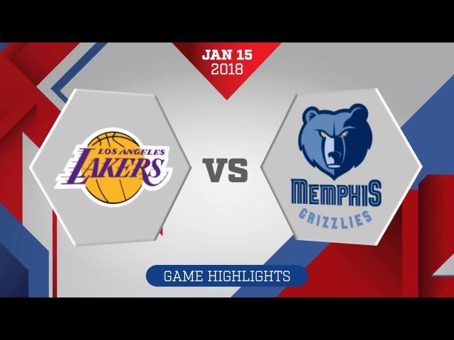 Los Angeles Lakers vs Memphis Grizzlies