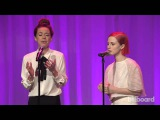 Billboard Women in Music Joy Williams and Paramore Perform 'Hate to See Your Heart Break'