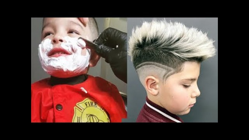 Amazing Kids Boys Haircut ★ Best Barbers Compilation 11