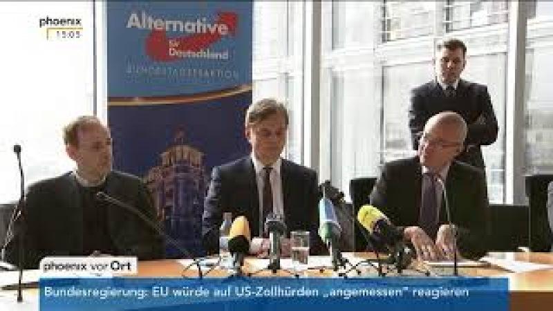Statements der Parteien vor den Fraktionssitzungen am 20.02.18