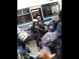 Задержание Навального на митинге 28 января в Москве