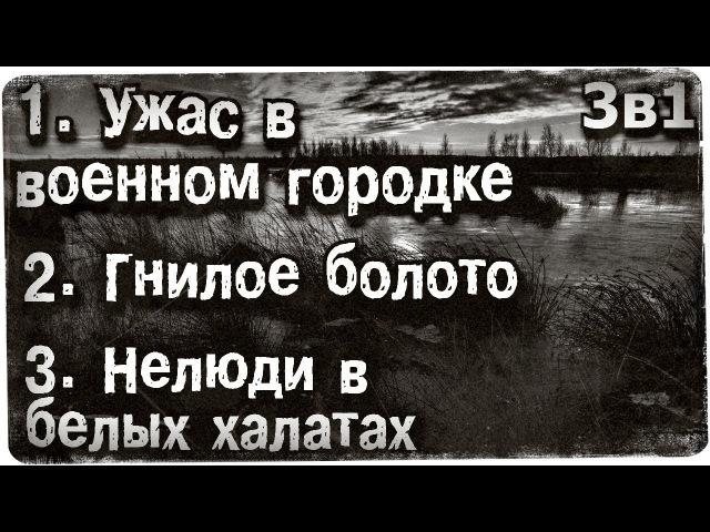 Истории на ночь (3в1) 1.Уж@с в военном городке, 2.Гнилое болото, 3.Нелюди в белых халатах