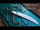 Forging A Knife From An Allen Wrench