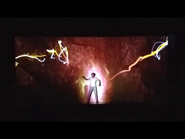Танцевально-мультимедийное шоу на церемонии награждения '' Профи. Итоги Года - 2017''