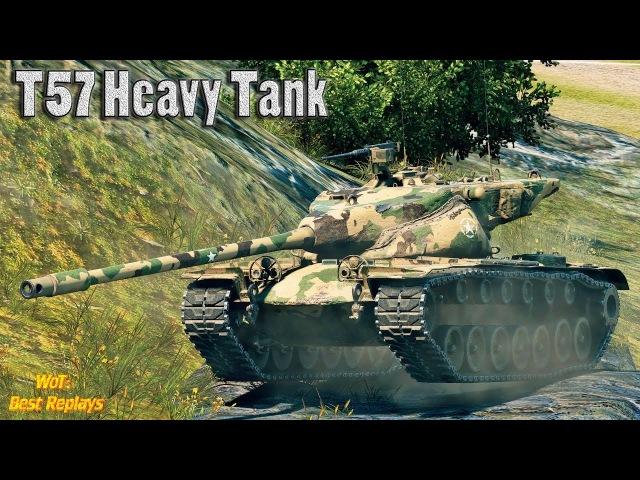 T57 Heavy Tank : Приятный Деф * 10200 урона 10 фрагов , Ласвилль