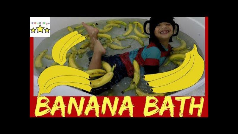 Banana Bath Challenge