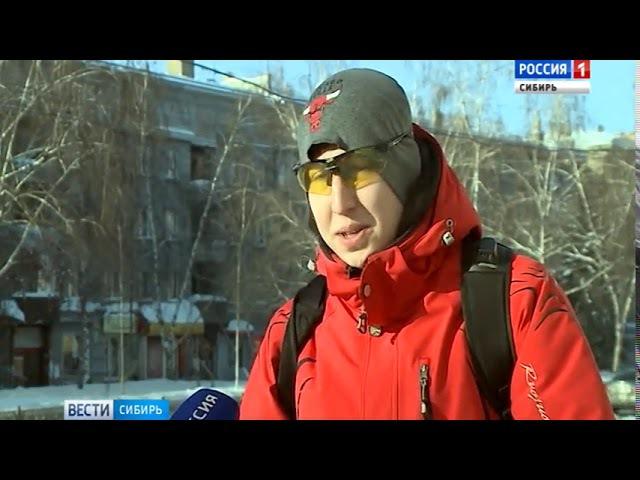 Новосибирцы массово пересаживаются на велосипеды зимой