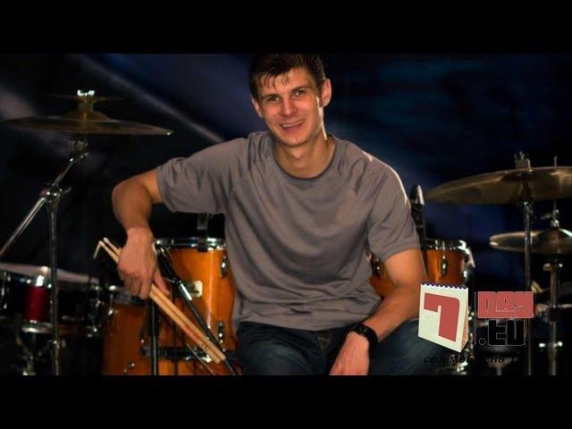 Быстрая игра одной рукой на барабане | Урок 1| Стас Власов » Freewka.com - Смотреть онлайн в хорощем качестве