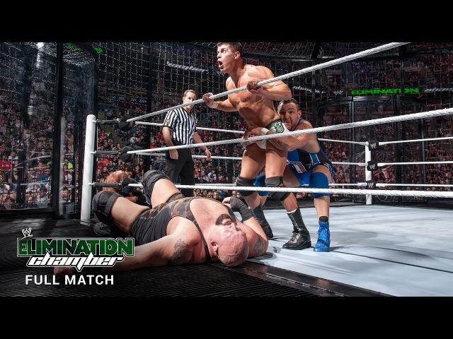 FULL MATCH - World Heavyweight Title Elimination Chamber Match Elimination Chamber 2012