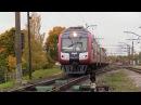 Дизель-поезда ДР1АЦ-227185 на ст. Огре / DR1AC-227185 DMU's at Ogre station