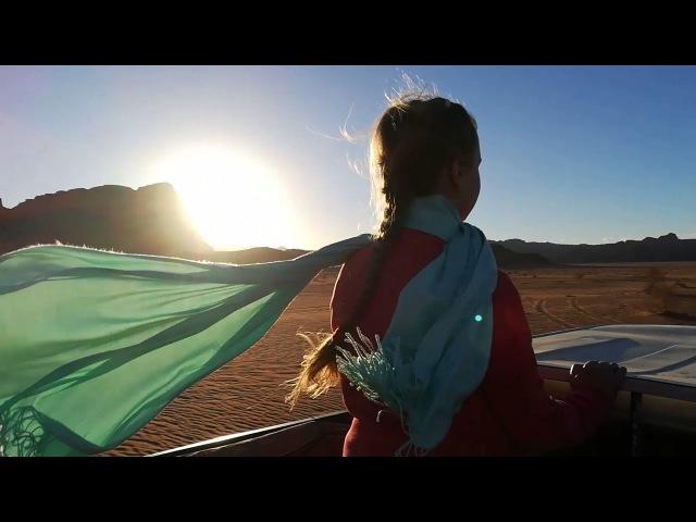 Пустыня Вади-Рам на закате 2