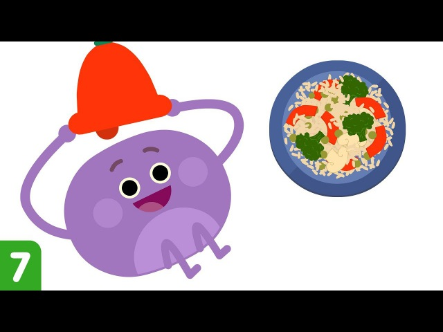 The Bumble Nums Make Steaming Stir Fry | Cartoons for Kids