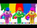 DIY Mike Monster - Modelling Clay for Kids How To Make TooHee Molds