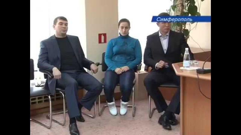 Встреча с прессой - Лупашко А.И., Олейник В.А., Белякова Л., ноябрь 2014