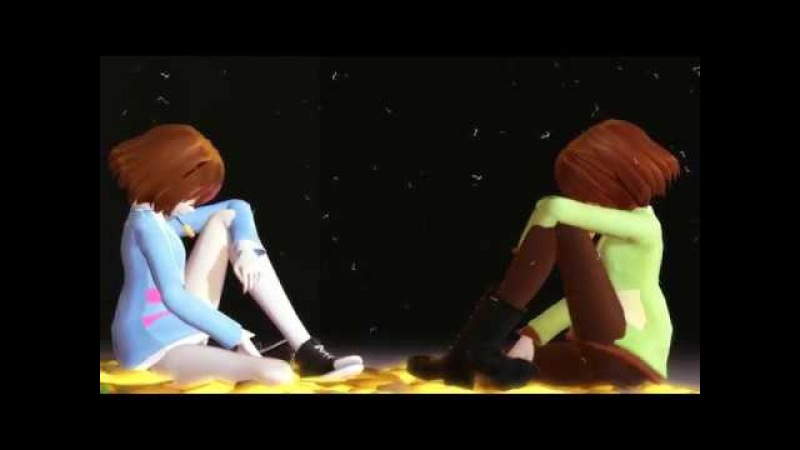 [ MMD Undertale MEME ] FALLEN YOUTH [ Chara and Frisk ]
