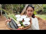 Awesome Cooking Fry Fish With Lemongrass Delicious Recipe - Cook Fish- Village Food Factory