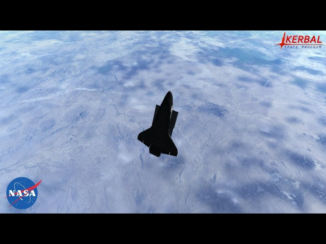Space Shuttle-Discovery launching|KSP|RSS|RO|