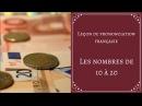 Leçon de prononciation française: Les nombres de 10 à 20.
