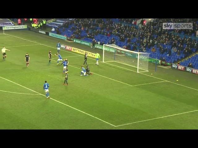 Ипсвич Таун 1–0 Лидс Юнайтед. Чемпионшип. 27-й тур. 13.01.2018
