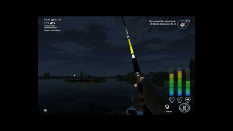 Fishing Planet 1.1.8 - Белый осетр (ночью) Калифорния