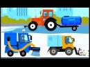 Транспорт - Машинки Самолеты Вертолеты Корабли Мультик Для Детей