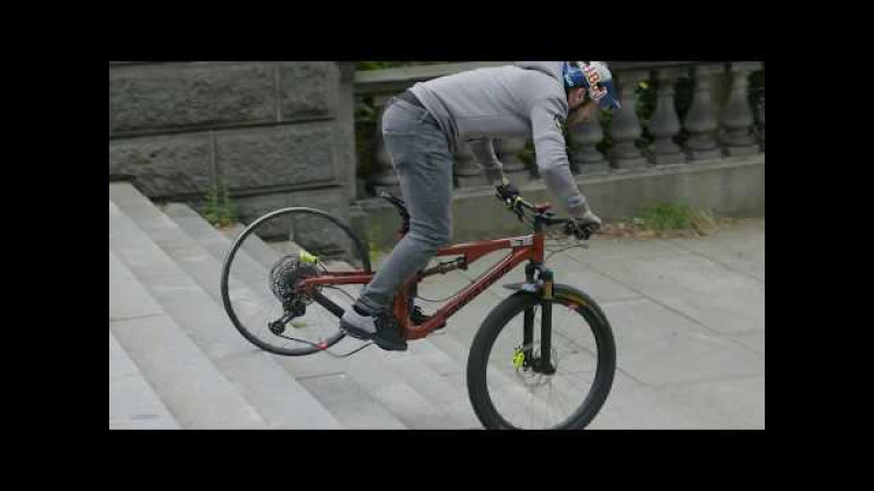 Danny MacAskill Tests Santa Cruz Reserve Carbon Wheels