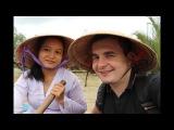Wonderful Vietnam Дельта Меконга. Фабрика конфет. Вьетнамская музыка. Рынок еды в Хошими...