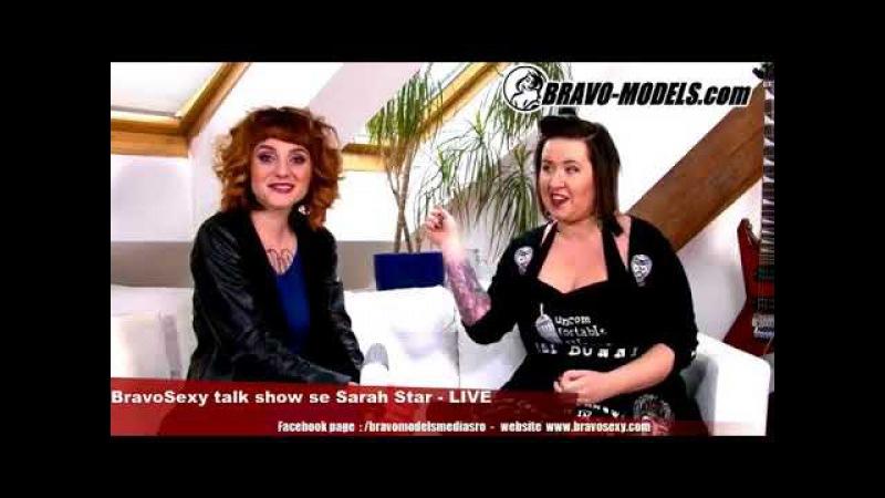 BravoSexy Talk - Live host: LADY ANNAHELL - alternativni modni navrharka
