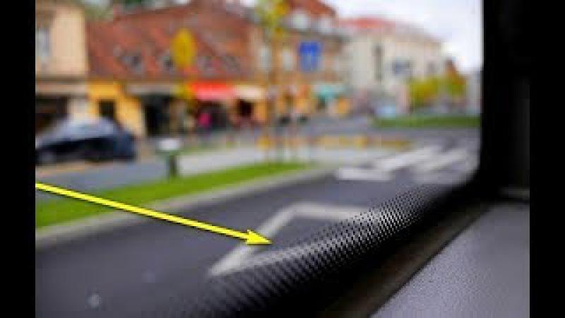 Только я могу вам рассказать всю правду об этих черных точках на стекле автомоби...