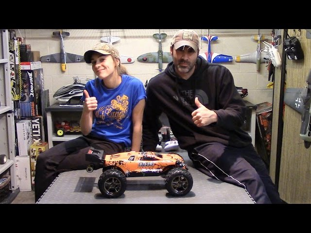VKar Bison RC Truggy - First Look