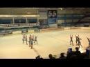 Чемпионат России по синхронному катанию 1 спортивный разряд ПП 11 Мордовия САР