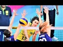 Top 15 Spike through the double block | A HOLE in the double block | Women's Volleyball