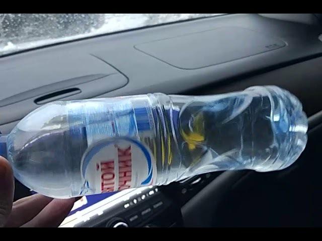 Мгновенная кристаллизация воды