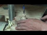 Трость для пожилого человека своими руками _ Homemade wooden walking stick for old people