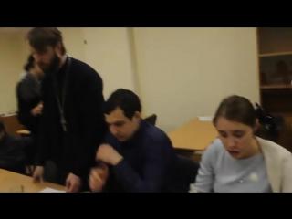 Пение колядок в молодежке 13.01.2018