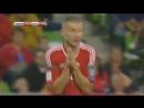 Красная карточка в матче Венгрия - Португалия