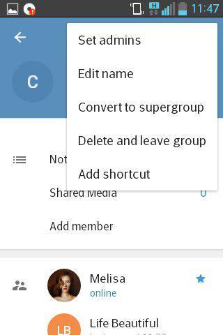телеграм как добавить админа в группу