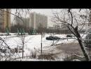 Дрифтинг по свежему снегу