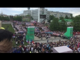 Я люблю тебя жизнь. 12 июня в Екатеринбурге, тысячный хор