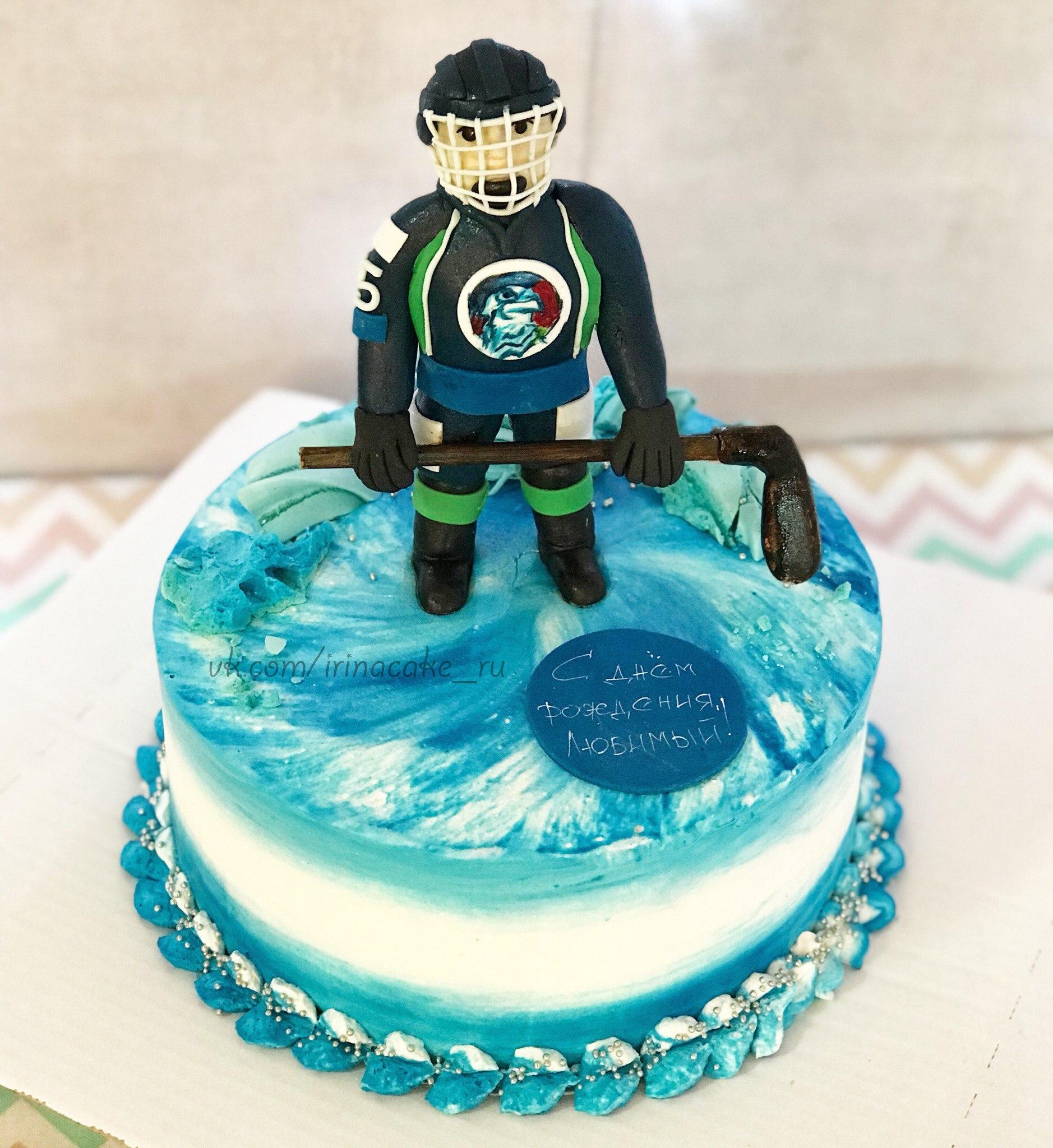 Торт для хоккеиста (арт. 0001)