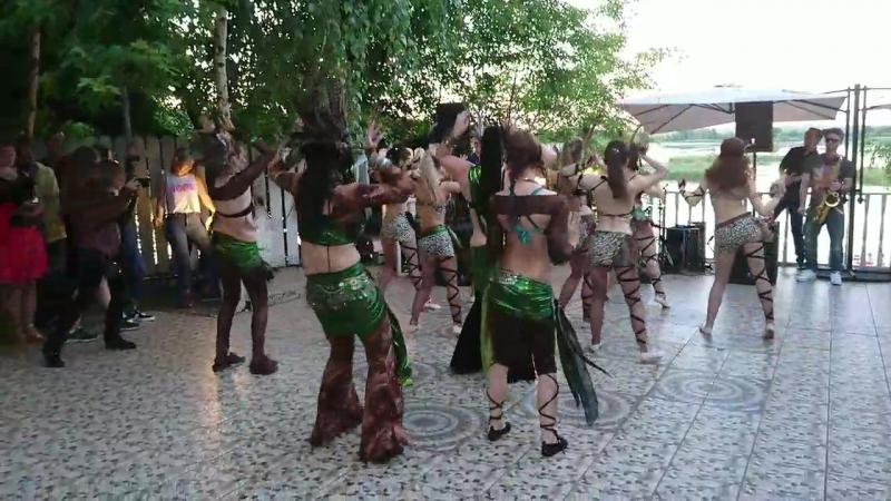 Трайбл коллектив Венеды  V Танцевальный фестиваль Давайте потанцуем с Мио Балло! на Морской