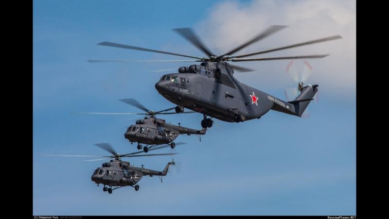 Агата Кристи - Ковер вертолёт (на видео вертолёты России).