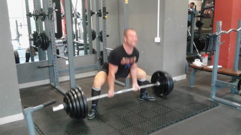 Тренировочный цикл√11 тяга 170кг 2×3...свой вес 85кг