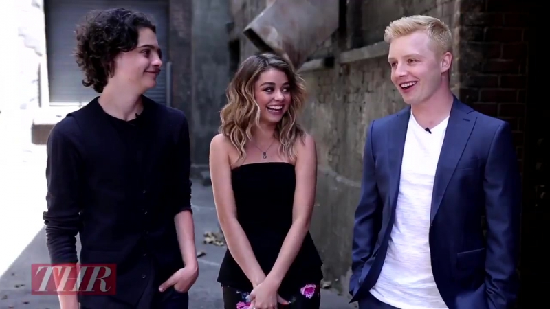 Max Burkholder, Sarah Hyland, Noel Fisher The Hollywood Report: Supporting actor and actress Emmy 2014 (3)