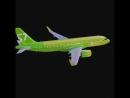 В парке S7Airlines появился второй @ Airbus A320neo Уже сегодня он совершил первый рейс по маршруту Москва Омск Всего за не