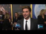 Zac Efron Talks -Electricity- With Zendaya in -Greatest Showman- - E! Live from the Red Carpet - YouTube
