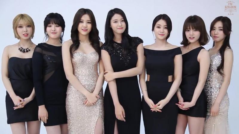 2015 [FNC KINGDOM in Seoul] AOA Promotion Video