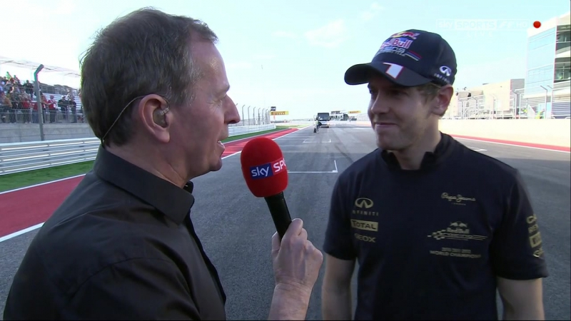 Гран-при США 2012. Post-Race [Sky Sports]